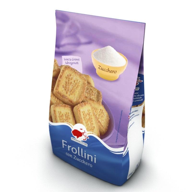 biscuits breakfast 3d model