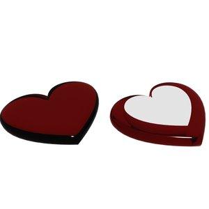 heart core glass loaders 3d model