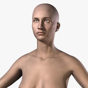 3dsmax nude female body