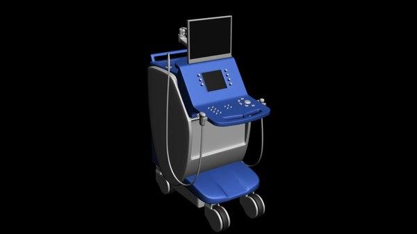 3d model echograph
