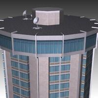 raleigh landmark hotel 3d model