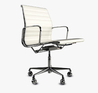 3ds vitra aluminum chair