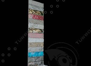 3d model tile ceramic freestone dadoceramica