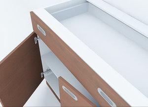 3d model kitchen unite furniture