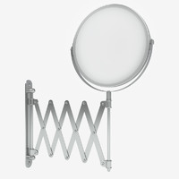 Shaving bathroom mirror
