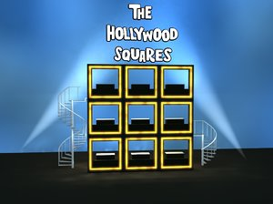 3d hollywood squares