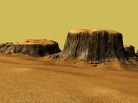 3d model landscape