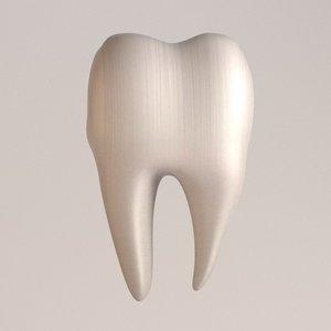 3d second molar