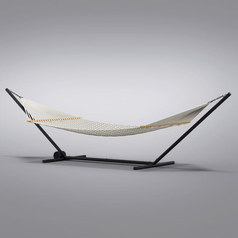 3d max crate barrel - hammock