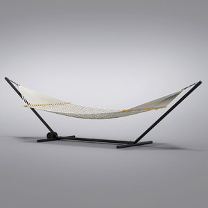 3d max crate barrel - hammock