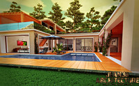 3d house riviera france model