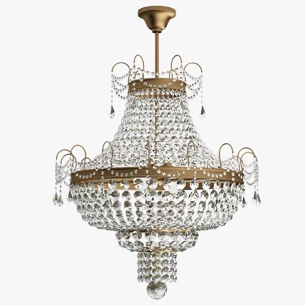chandelier obj