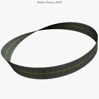 3d model mobius road