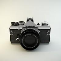 3dsmax classic olympus film camera