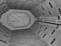 3d model airlock bioforge