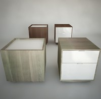 Ikea Nightstands (Nyvoll)