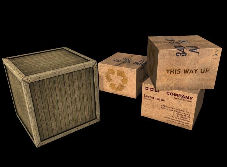 obj crate carton