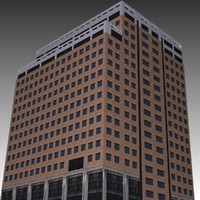 3d model raleigh office building