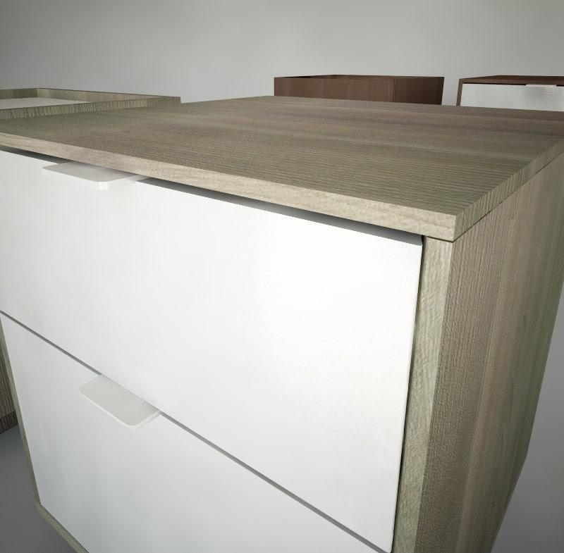 Ikea Nightstands Nyvoll