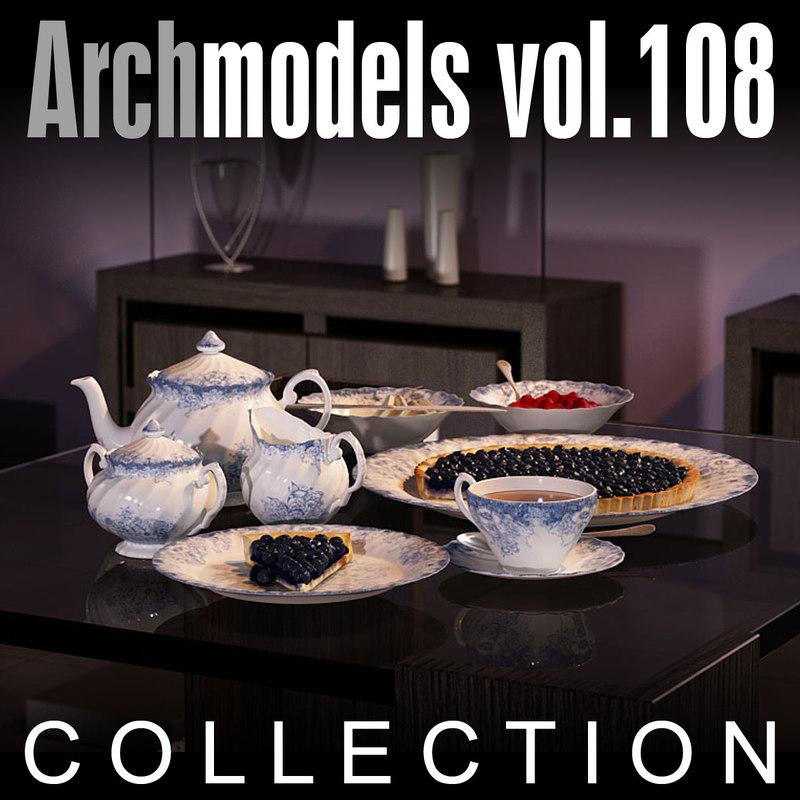 3d model archmodels vol 108