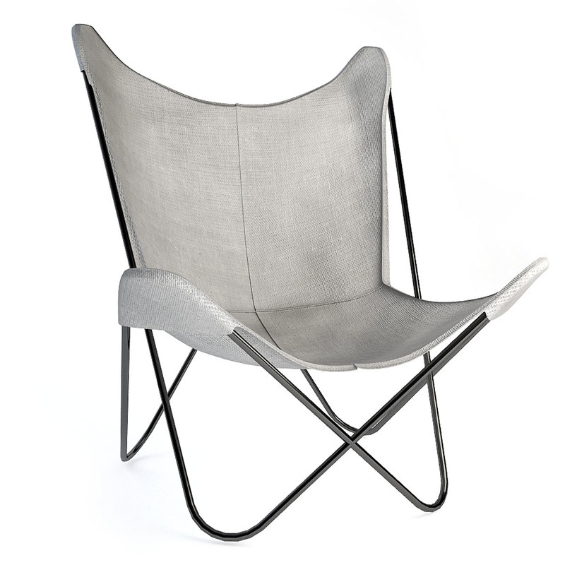 butterfly chair 2 3d max