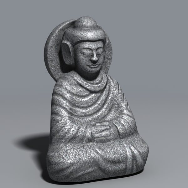 tabletop sitting buddha 3ds