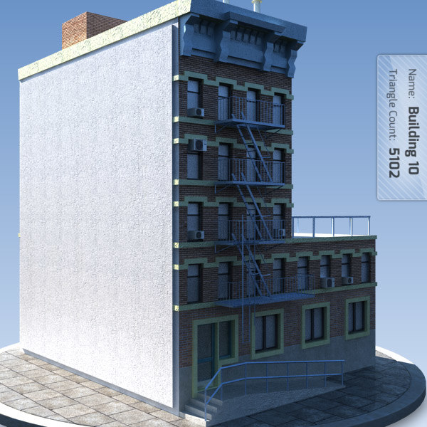 building games new york 3d max