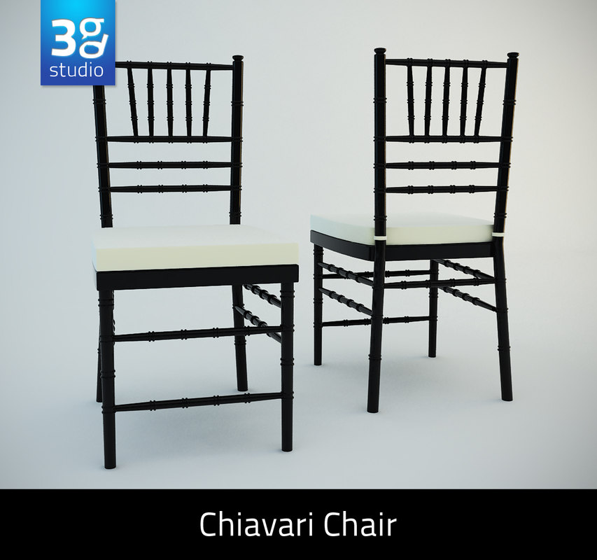 3ds chiavari chair