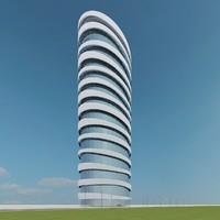 3d model new skyscraper 53