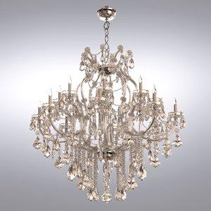 maria chandelier 3d model