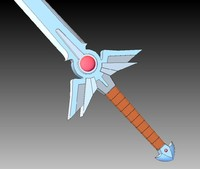 The Hero s Sword 1-1 scale CAD model