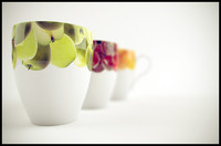 cups fruit 3d model
