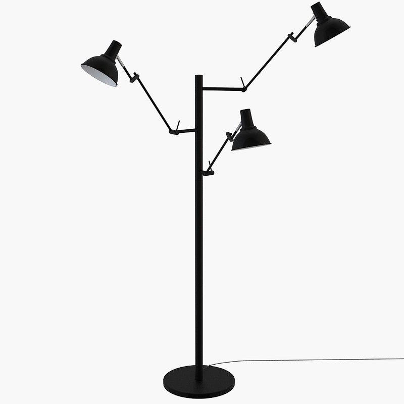 boconcept flex lamp 3d model