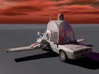 Flint's Flying Car
