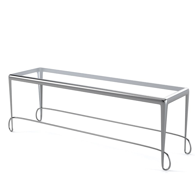 3d model glass console table for Spl table 99 00