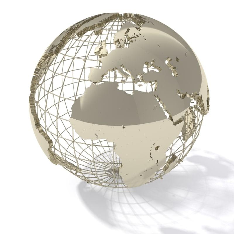geopolitical globe max