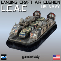 3ds max landing craft air cushion