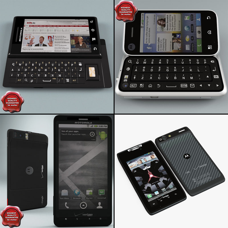 3ds max motorola phones v1