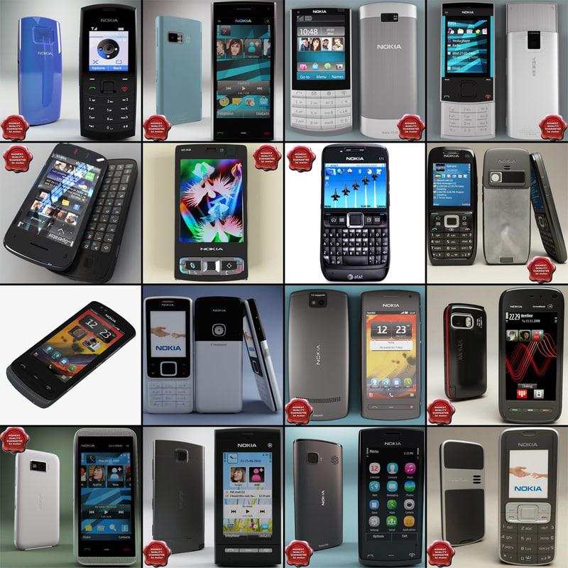 3dsmax nokia phones v11