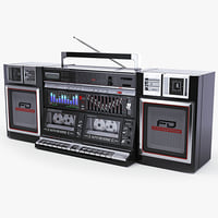 Retro Boombox Sharp WF-939