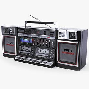 3dsmax legend boombox sharp wf-939