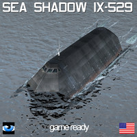 3d shadow ix-529 sea