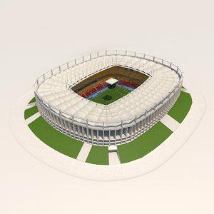3d model bucharest arena stadium