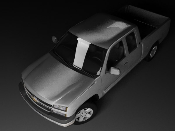 3ds max chevrolet silverado mk1 cab