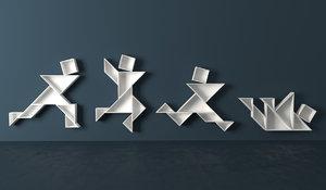 tangram bookshelves max