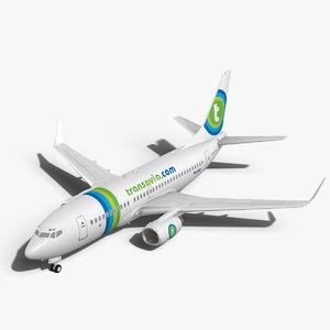 obj transavia boeing 737-700w