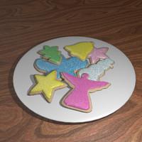 blender christmas cookies