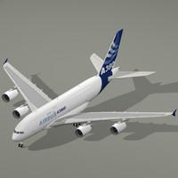 3ds airbus a380-800 f house colors