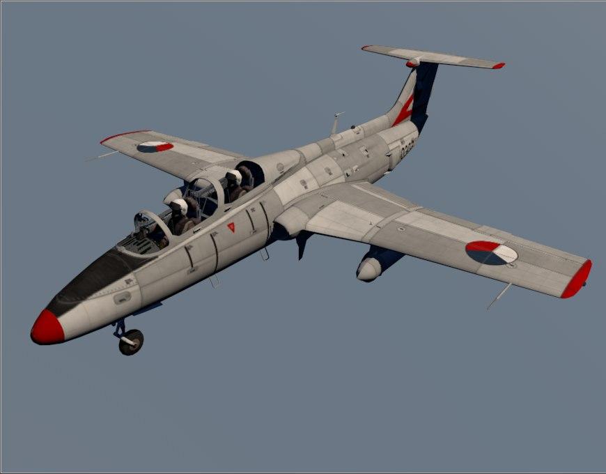 aero l-29 czech air force c4d