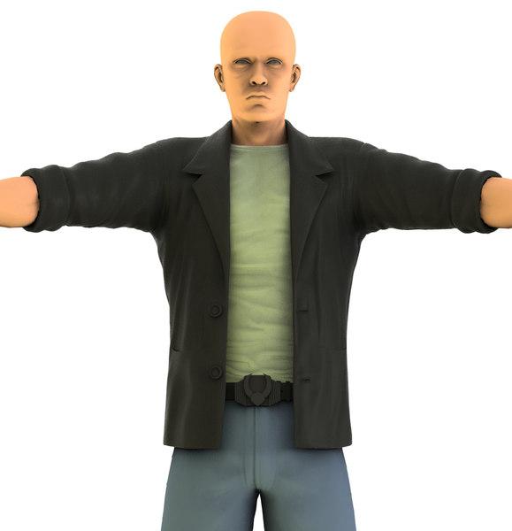 male character obj